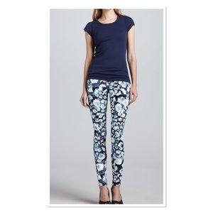 AG Absolute Legging Extreme Skinny Floral Jean 28